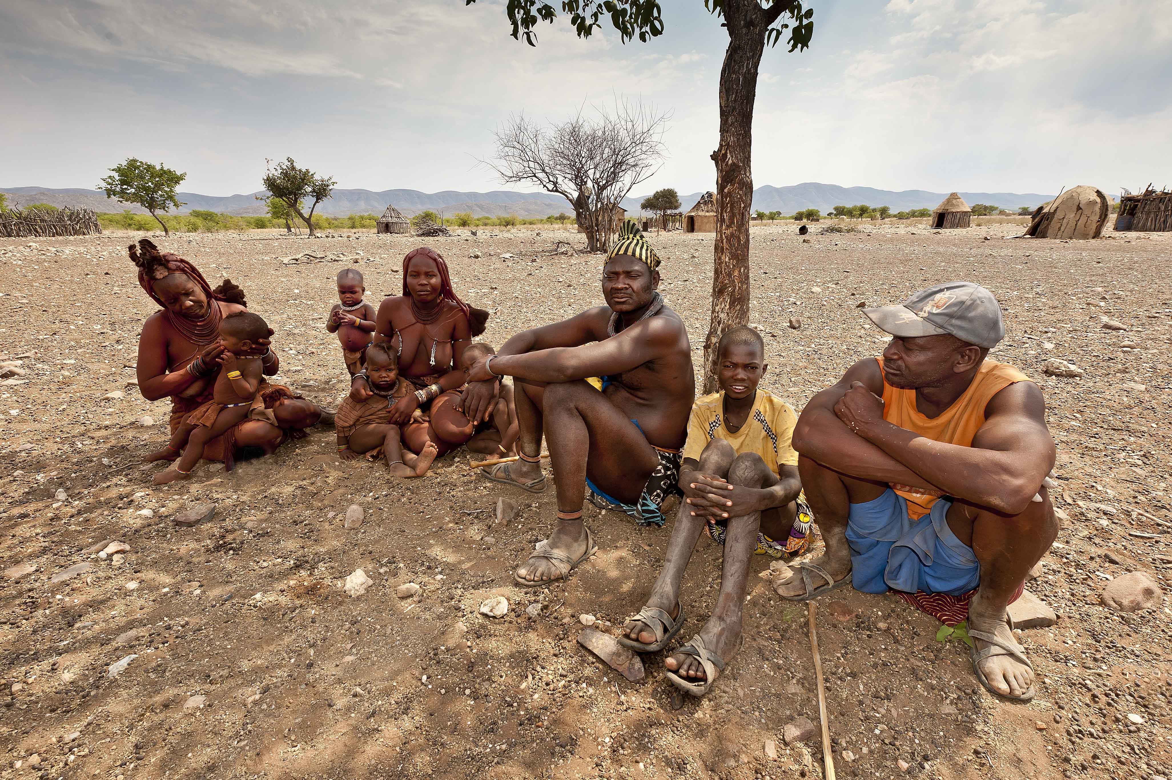 people of namibia bengt bjurstr m photography
